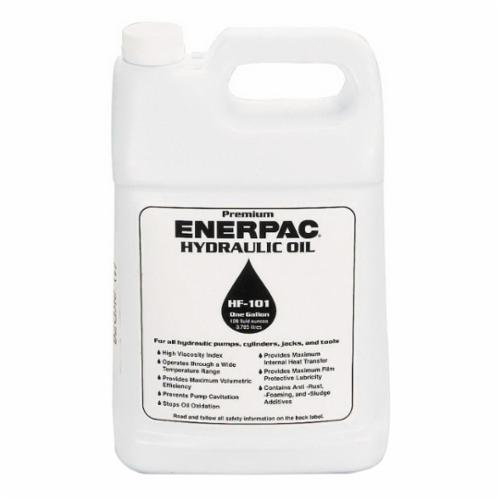 Enerpac® HF-101 HF Series Hydraulic Oil, 1 gal Can, Mild Petroleum, Liquid, Blue