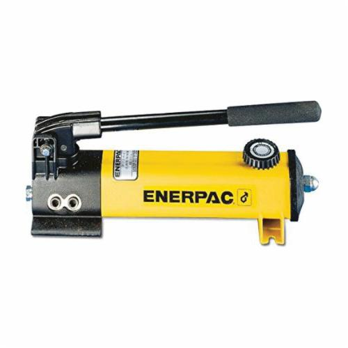 Enerpac® P-142 P Series 2-Speed 2-Stage Lightweight Hydraulic Hand Pump, 20 cu-in Tank