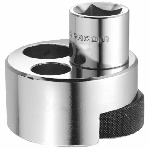 Facom® FA-286A.PL External Heavy Duty Knurled Stud Extractor, Hex Drive, 1 in, 20 to 27 mm Extractor, 3/4 in Drill