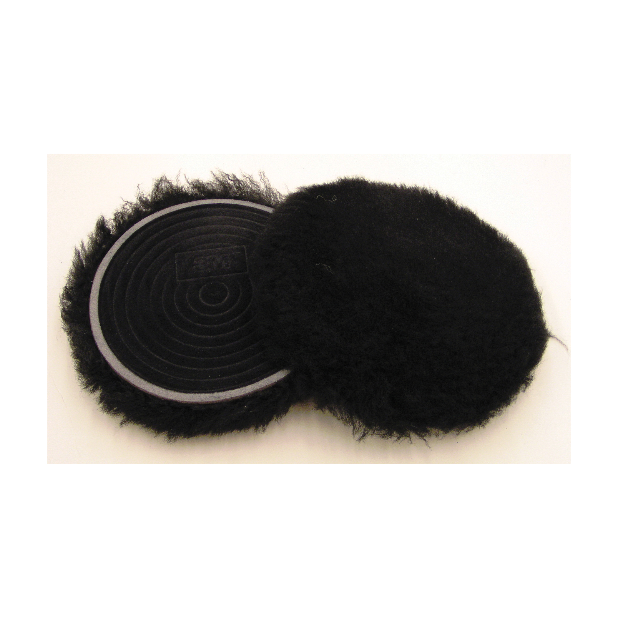 3M™ Finesse-it™ 051144-85100 Natural Regular Buffing Pad, 5-1/4 in Dia, Hook and Loop Attachment, Wool Pad