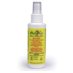 First Aid Only® BugX®30 18-794 DEET Insect Repellent Spray, 4 oz Pump Spray Bottle, Liquid Form, White