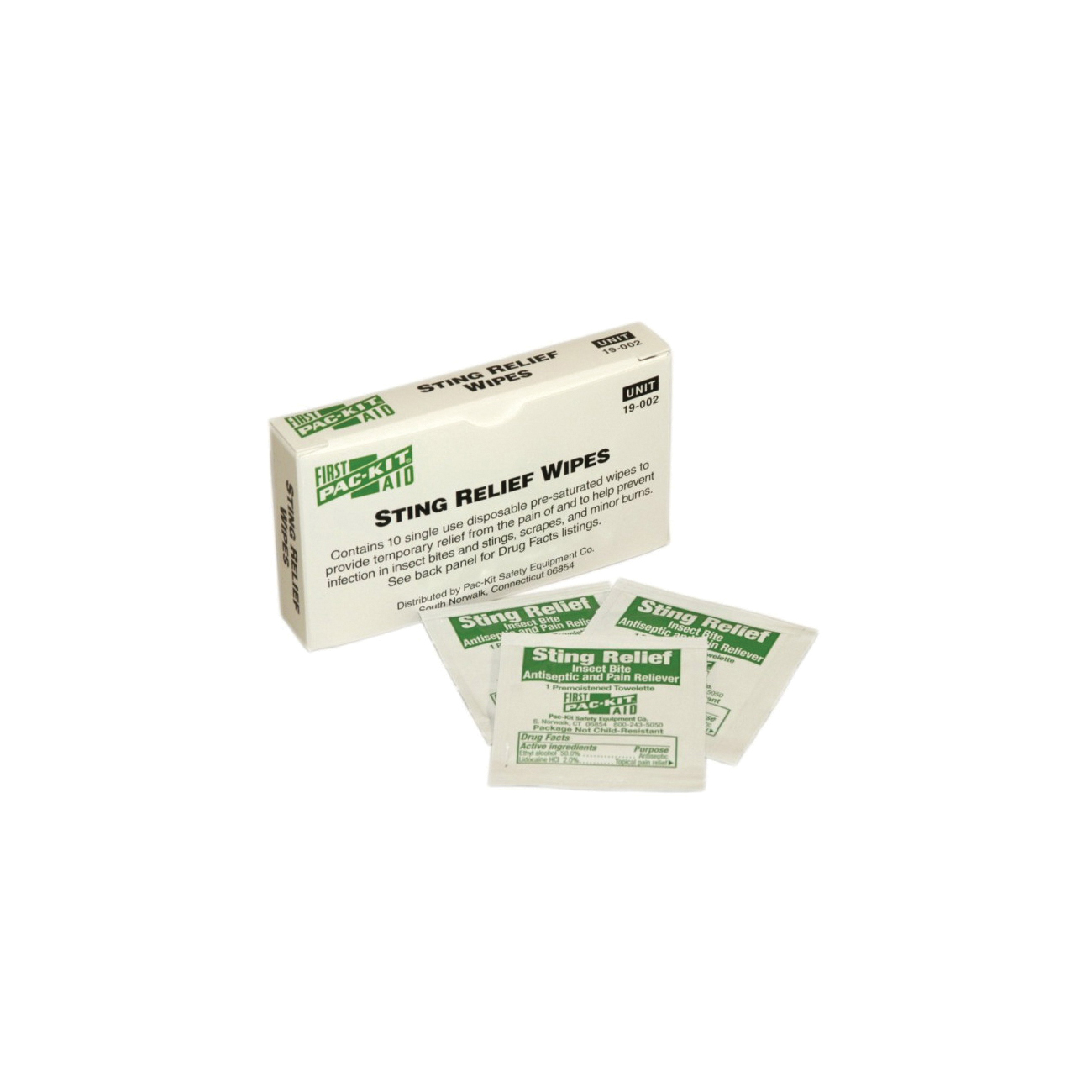 First Aid Only® 19-002 Insect Sting Relief Pad