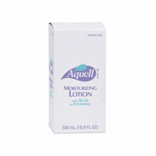 AQUELL® 3838-06 Moisturizing Lotion, 500 mL, Dispenser Refill, Liquid, Floral, White