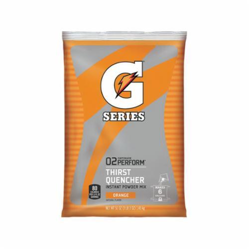 Gatorade® 03968 G Series Sports Drink Mix, 51 oz Pack, 6 gal Yield, Powder Form, Orange