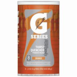 Gatorade® 013165 G Series Sports Drink Mix, 1.34 oz Pack, Powder, 20 oz Yield, Orange
