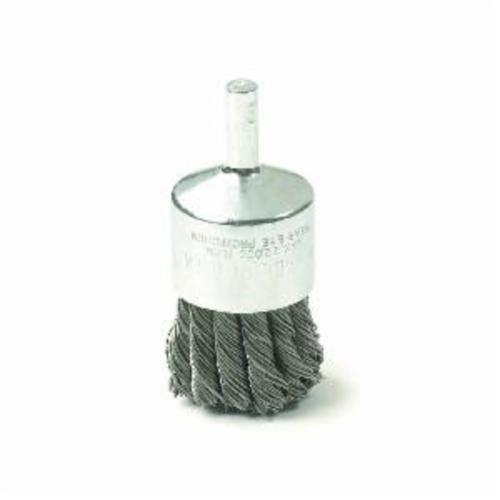 GEARWRENCH® 2312DD Heavy Duty End Brush, 1 in Dia Brush, Knot, 0.02 in Dia Filament/Wire