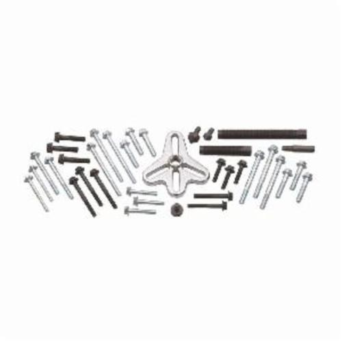 GEARWRENCH® 41600 Imperial/Metric Master Bolt Grip Set, For Use With Harmonic Balancer, Steering Wheel, Crankshaft Pulley and Gear, Black