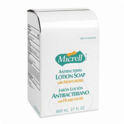 MICRELL® 9756-06 Antibacterial Lotion Soap, 800 mL, Cartridge, Liquid, Citrus, Amber