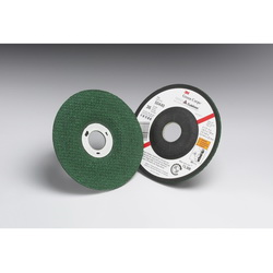 Green Corps™ 051111-50440 Flexible Grinding Wheel, 4-1/2 in Dia x 1/8 in THK, 7/8 in Center Hole, 36 Grit, Ceramic Abrasive
