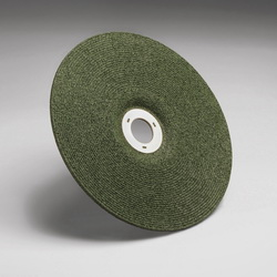 Green Corps™ 051135-92316 Grinding Wheel, 4-1/2 in Dia x 1/8 in THK, 7/8 in Center Hole, 36 Grit, Ceramic Abrasive