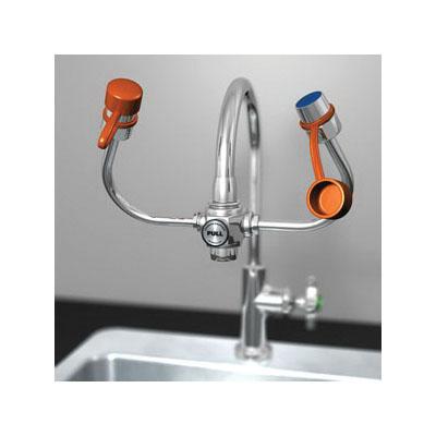 Guardian EyeSafe-X™ G1101 Eyewash, Faucet Mounting, Pull Knob Operation, Specifications Met: ANSI Z358.1-2014