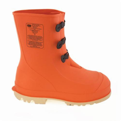 Tingley HazProof® 82330-10 Hazmat Boots, Men's, SZ 10, 11 in H, Steel Toe, PVC Upper, PVC Outsole, Resists: Slip and Chemical