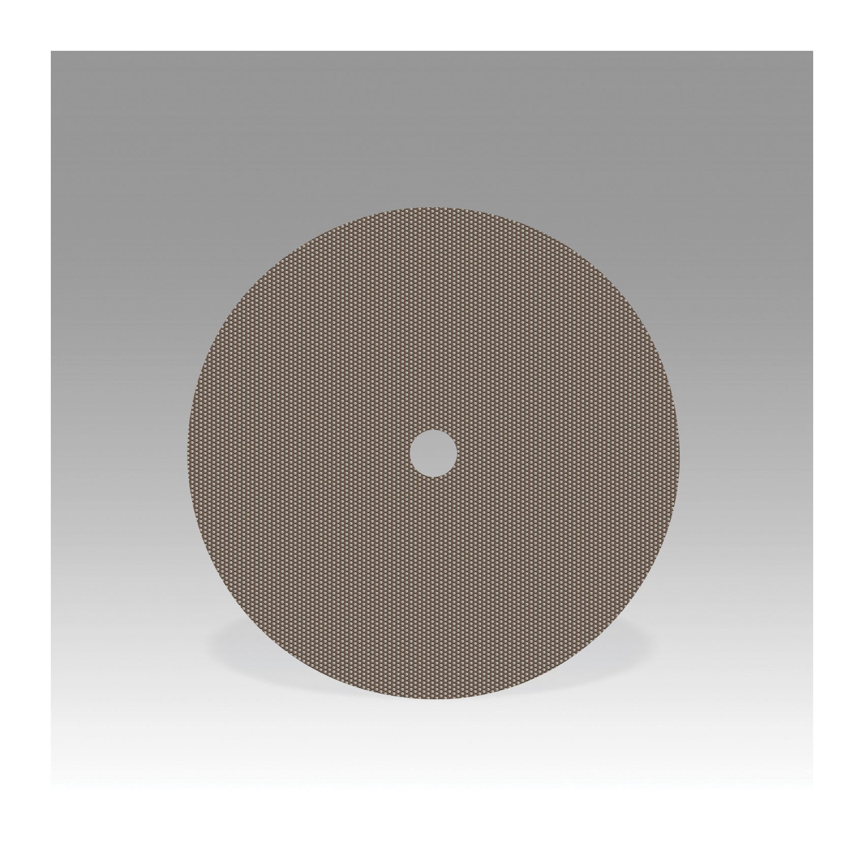 3M™ 051144-86070 6002J Flexible Coated Abrasive Disc, 4 in Dia, 1 in Arbor/Shank, M10 Grit, Super Fine Grade, Diamond Abrasive