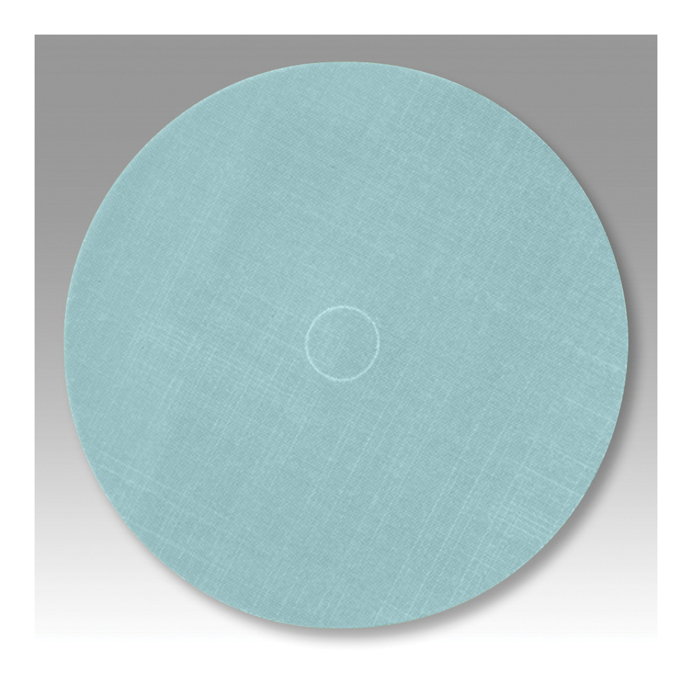 Trizact™ Dynabug® 051111-54615 268XA PSA Backing Pad, 6 in Dia Disc, A10 Grit, Ultra Fine Grade, Aluminum Oxide Abrasive, Film Backing
