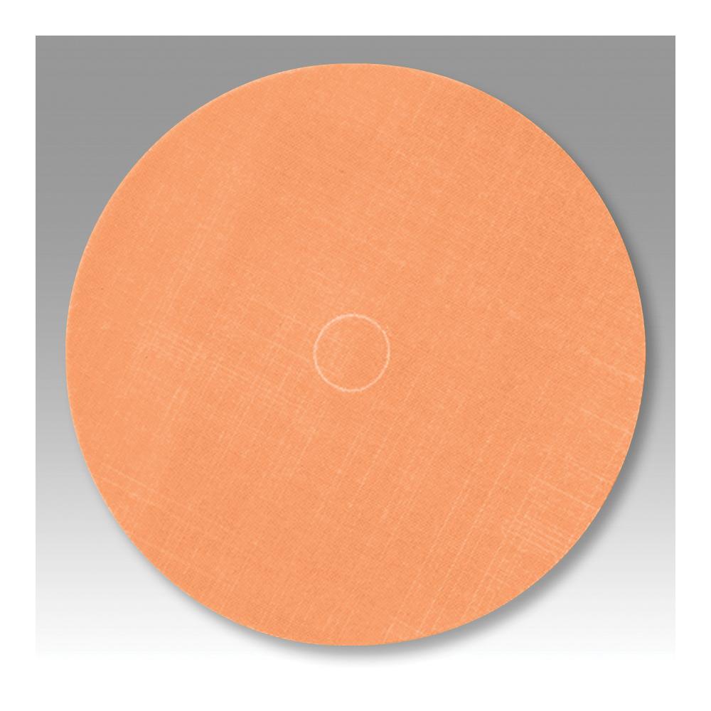 Trizact™ 051111-54617 PSA Coated Abrasive Disc, 6 in Dia, A5 Grit, Ultra Fine Grade, Aluminum Oxide Abrasive, Film Backing