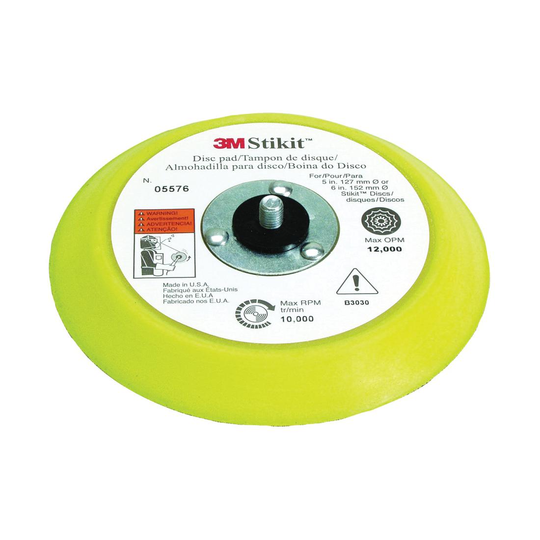 3M™ Hookit™ 051144-05576 Medium Density Carbide Burr, 6 in Dia Pad