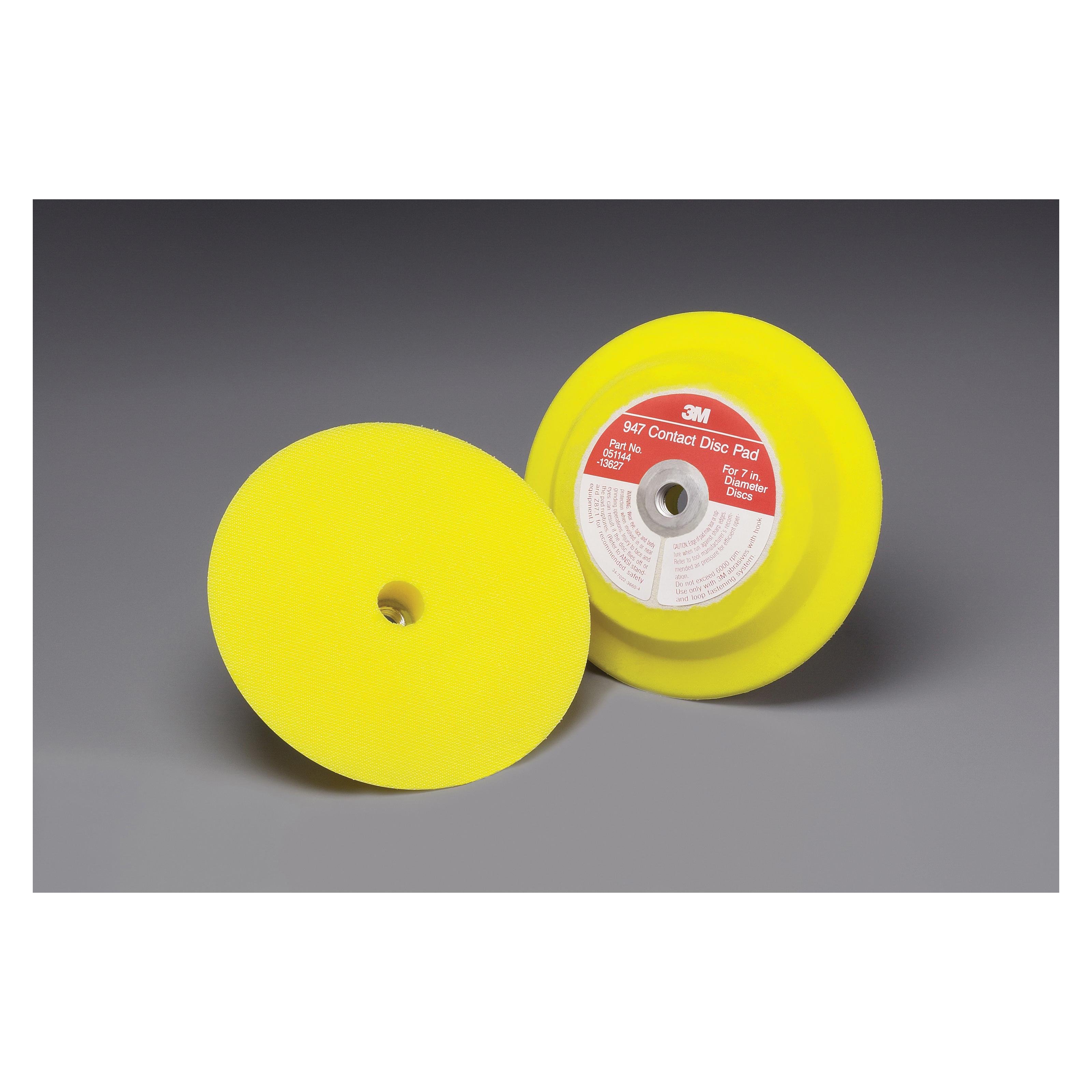 3M™ Hookit™ 051144-13627 Medium Density Regular Tube Brush, 7 in Dia Pad, 3M™ Hookit™ Attachment