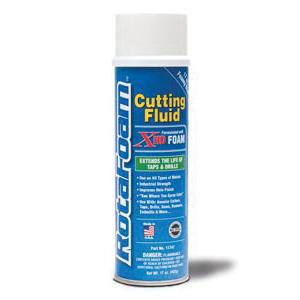 Hougen® RotaFoam™ 11747 Eco-Friendly Heavy Duty High Performance Cutting Fluid, 17 oz Aerosol Can, Petroleum, Liquid, Clear