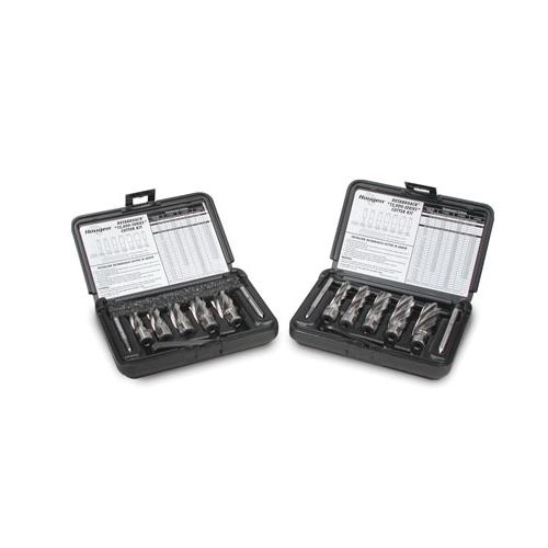 Hougen® Rotabroach® 12001 12000 Annular Cutter Kit, 9/16 in Dia Min Cutter, 1-1/16 in Dia Max Cutter, 1 in D Cutting, 9 Pieces, M2 HSS