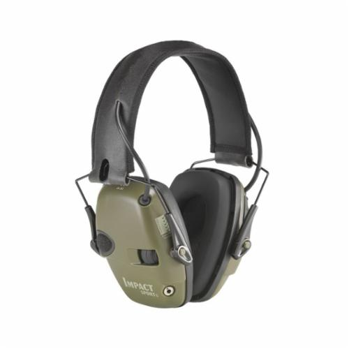 Howard Leight by Honeywell QM24+ Earmuffs, 25 dB Noise Reduction, Red, Multi-Position Band Position, ANSI S3.19-1974