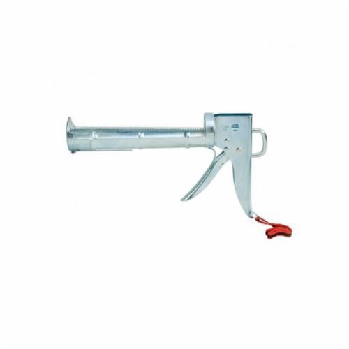 Hyde® 46484 Ratchet Rod Caulk Gun With Wrist Strap, 10 oz Container