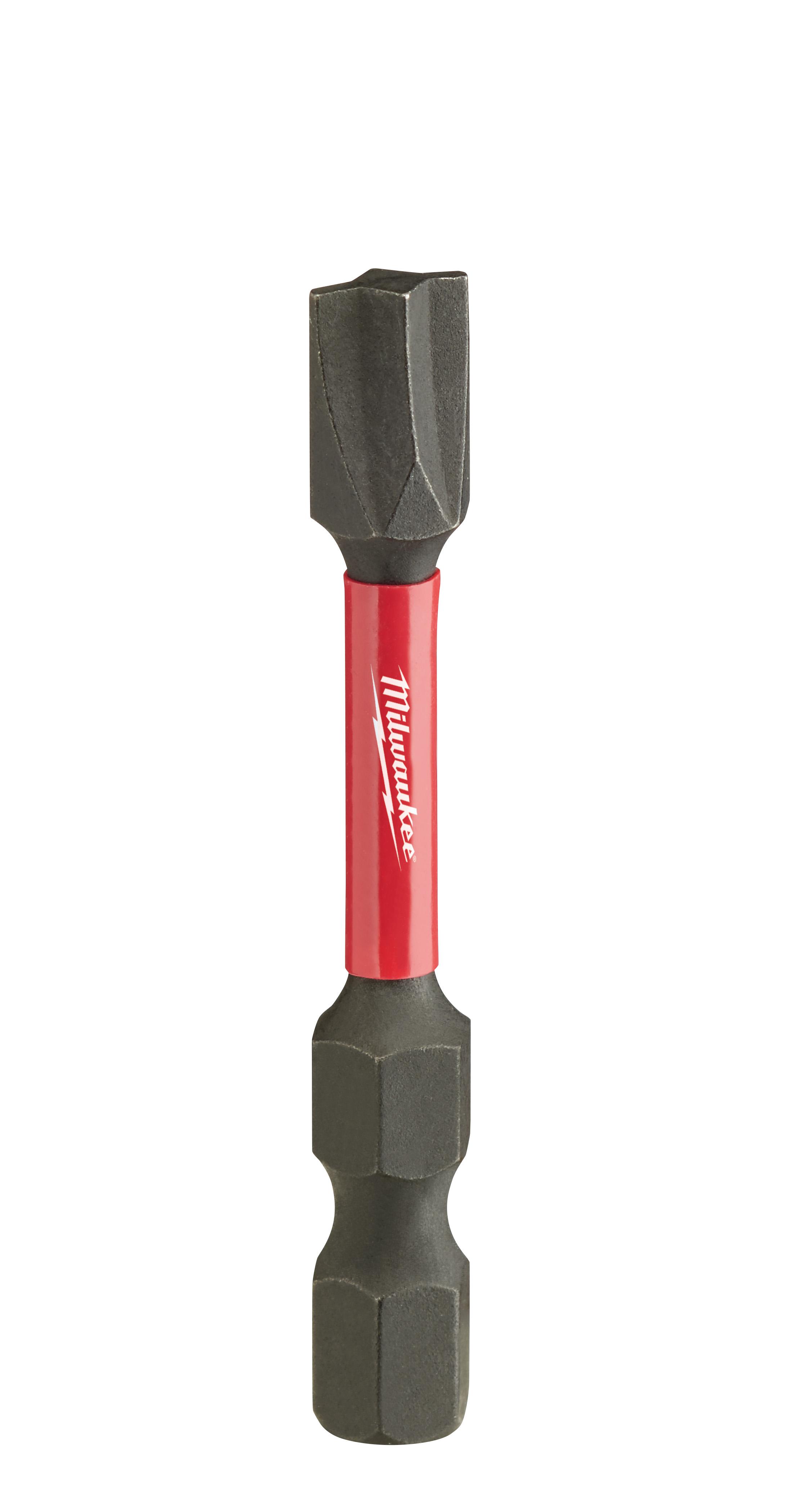 Milwaukee® SHOCKWAVE™ 48-32-4145 Impact Power Bit, #2 ECX™ Point, 2 in OAL, 1/4 in, Custom Alloy76™ Steel