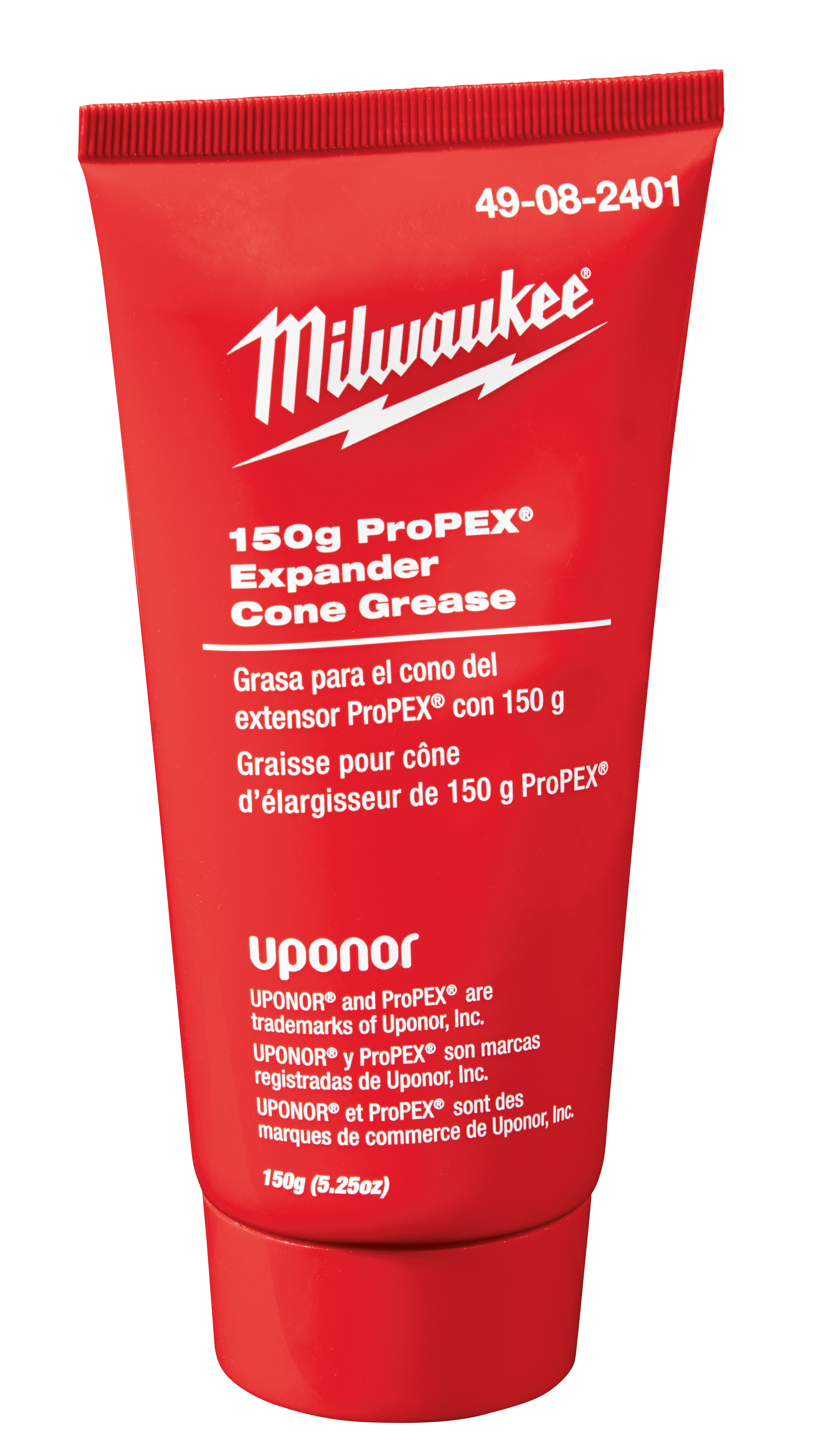 Milwaukee® ProPEX® 49-08-2401 Expander Cone Grease, 150 g Tube, Red, 392 deg F