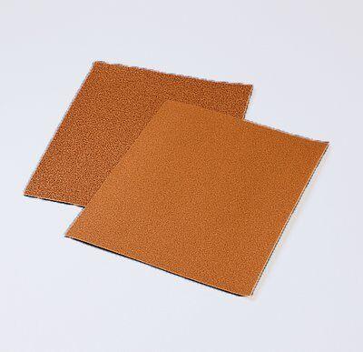 3M™ 051144-10033 140N General Purpose Coated Sanding Sheet, 11 in L x 9 in W, 80 Grit, Medium Grade, Garnet Abrasive, Paper Backing