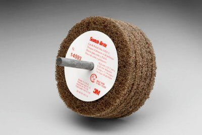 3M™ 14593 D5 Cut and Polish Disc, 3 in Dia Disc, Medium Grade, Aluminum Oxide Abrasive