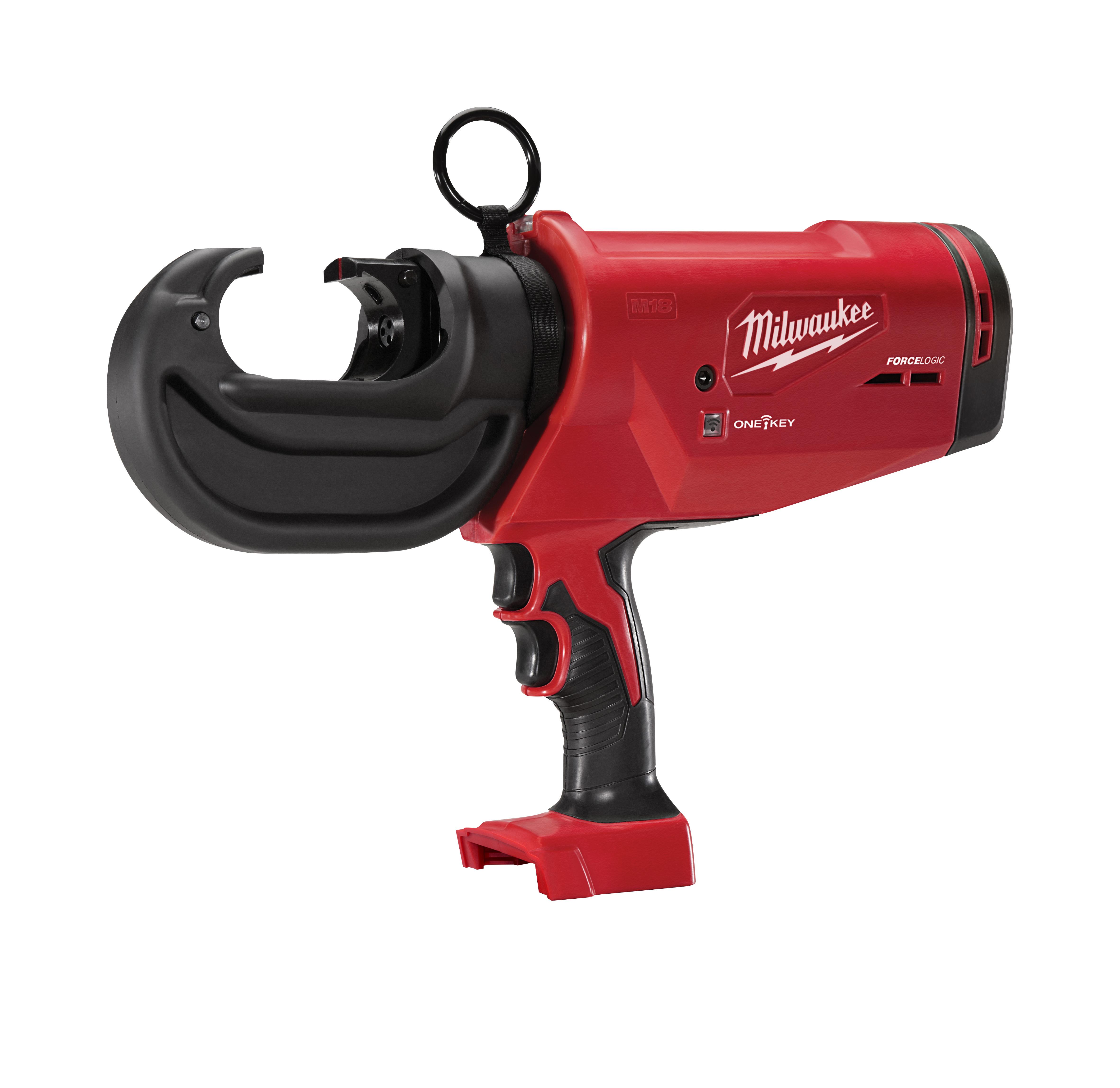Milwaukee® M18™ FORCELOGIC™ 2778-20 12T Cordless Utility Crimper, 12 ton Crimping, 18 VDC, M18™ REDLITHIUM™ Battery, 16 in OAL