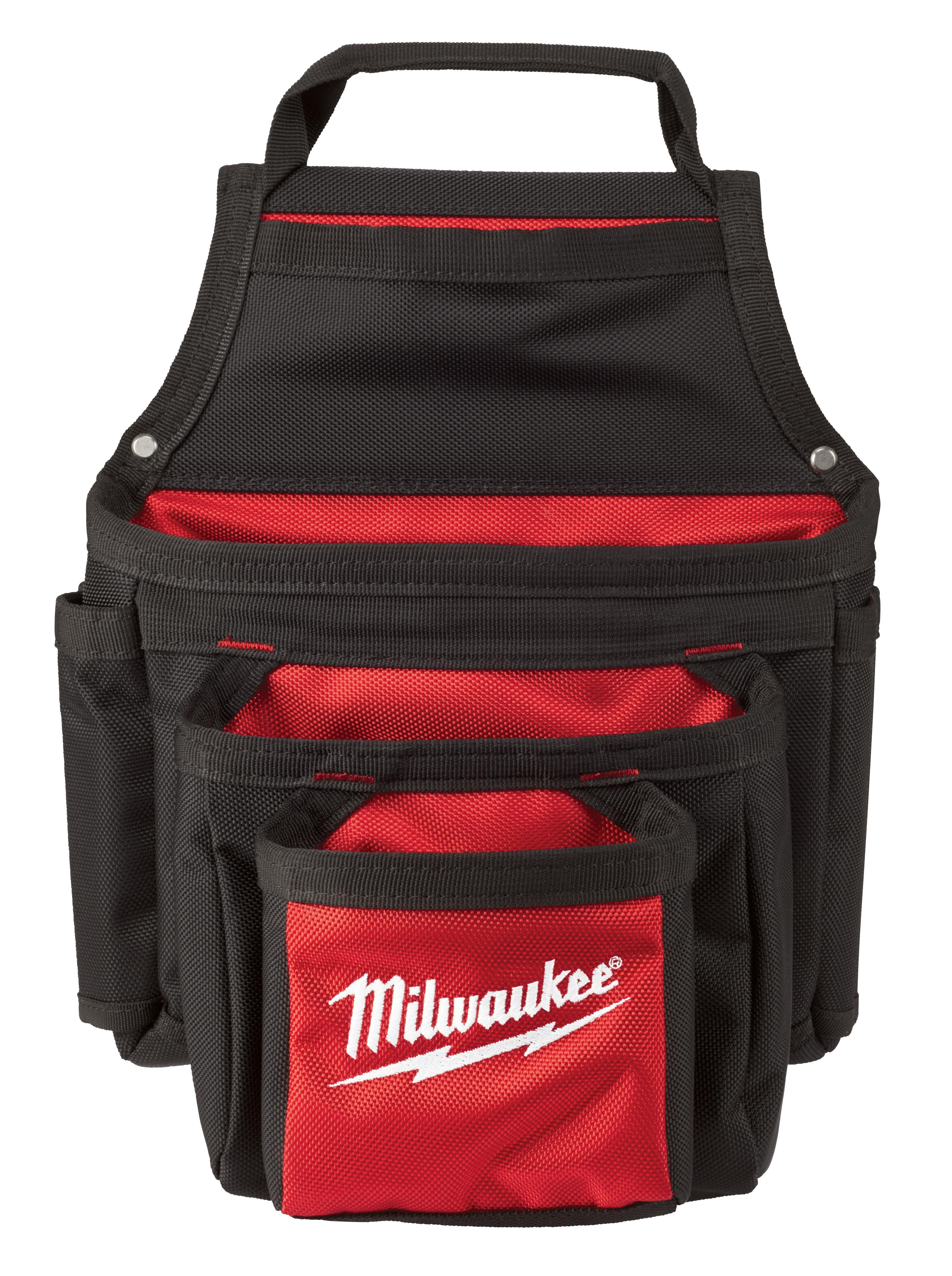 Milwaukee® 48-22-8122 Pouch, Ballistic Nylon, Black/Red