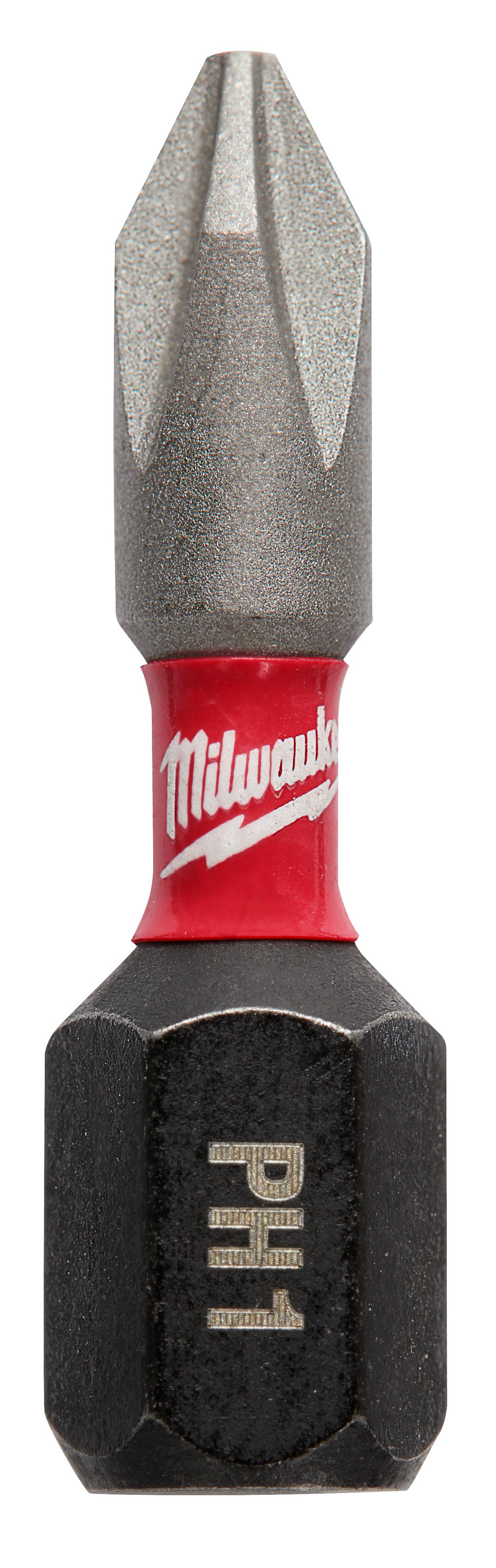 Milwaukee® SHOCKWAVE™ 48-32-4880 Impact Insert Bit, #1 Phillips® Point, 1/4 in, Steel