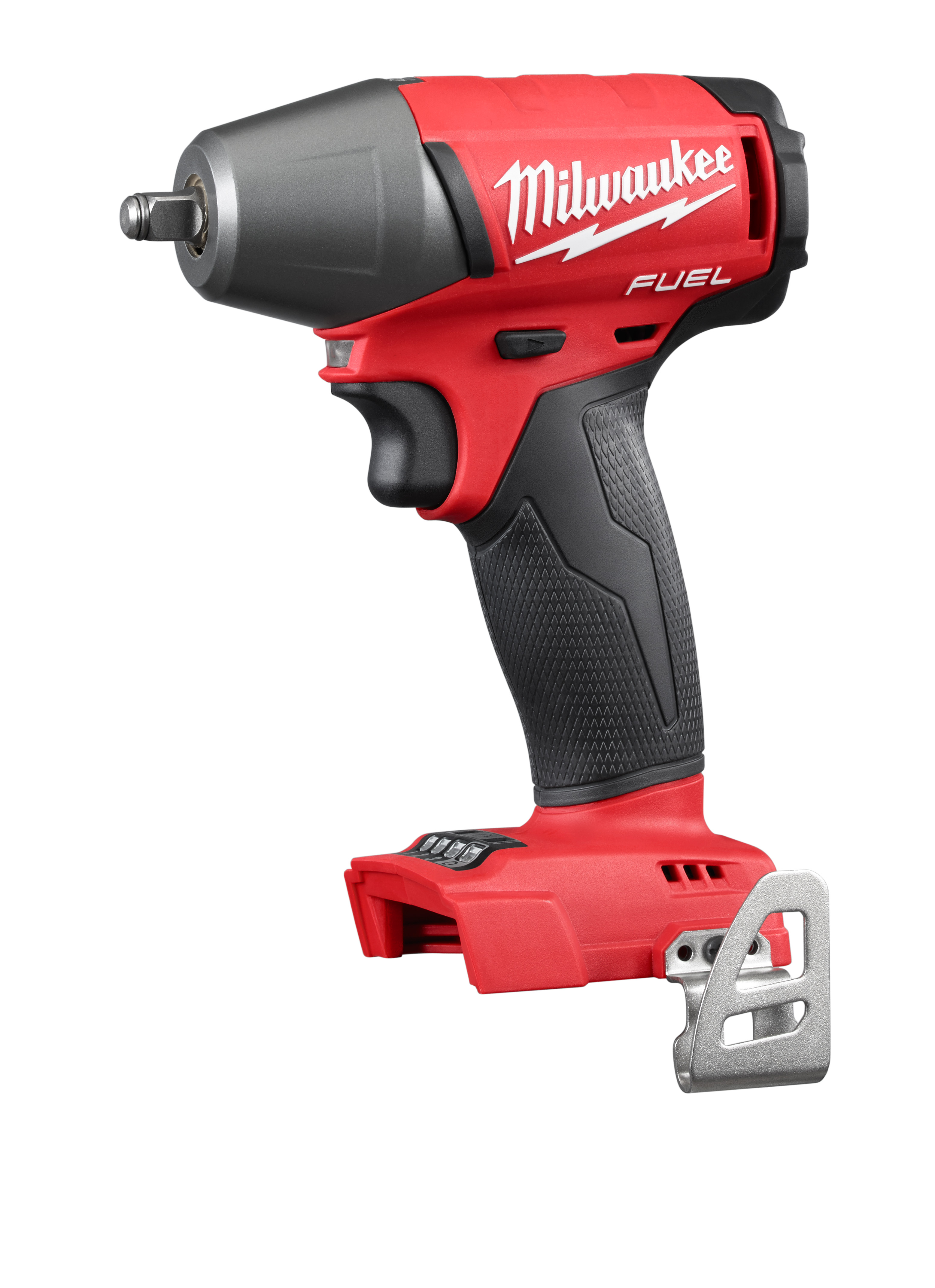 Milwaukee® M18™ FUEL™ 2754-20 Compact Cordless Impact Wrench With Friction Ring, 3/8 in Straight Drive, 0 to 3200 bpm, 210 ft-lb Torque, 18 VDC, 5.9 in OAL