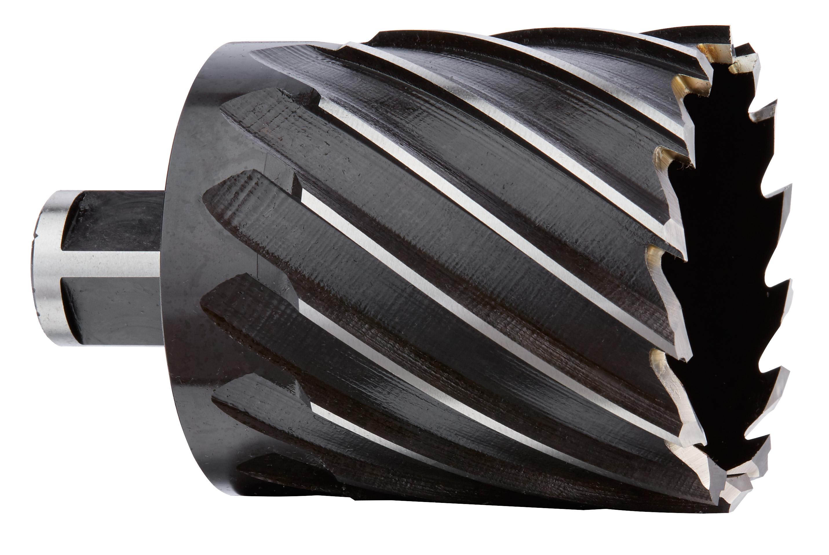 Milwaukee® 49-59-2206 Annular Cutter, 2-1/16 in Dia Cutter, 2 in D Cutting, HSS, Black Oxide, Weldon Shank