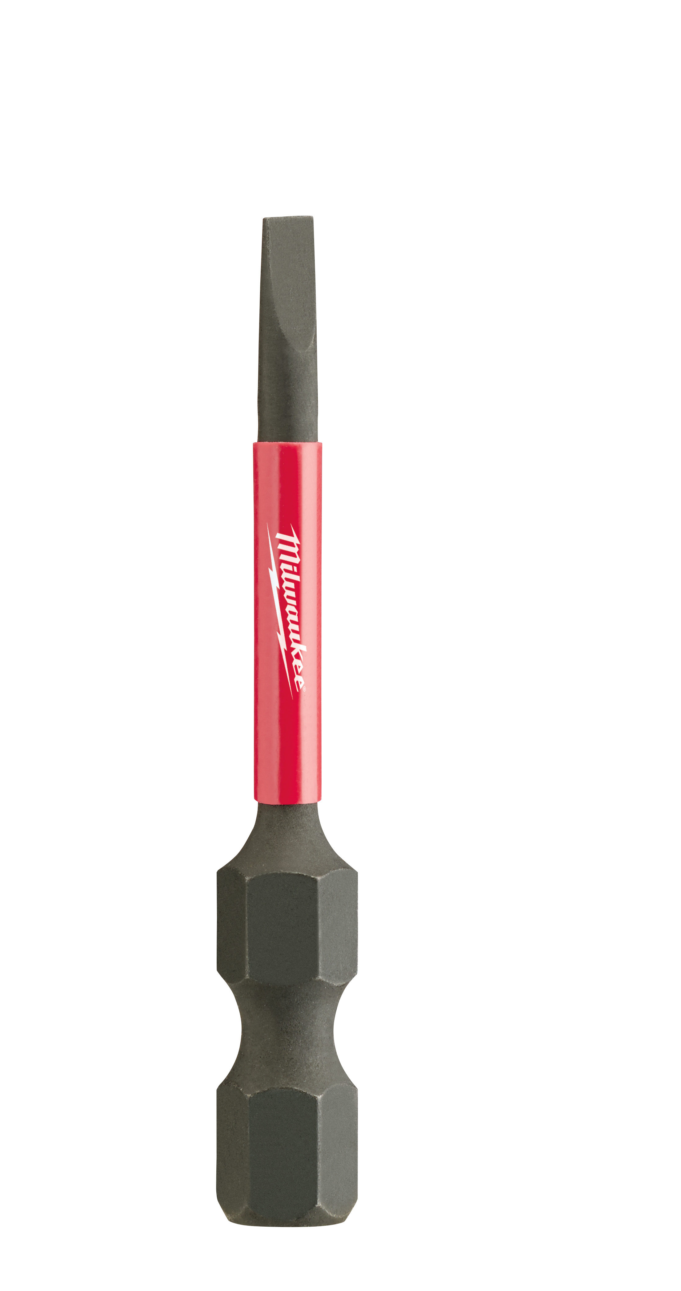 Milwaukee® SHOCKWAVE™ 48-32-4755 Impact Power Bit, 7/64 in Slotted Point, 2 in OAL, 1/4 in, Steel