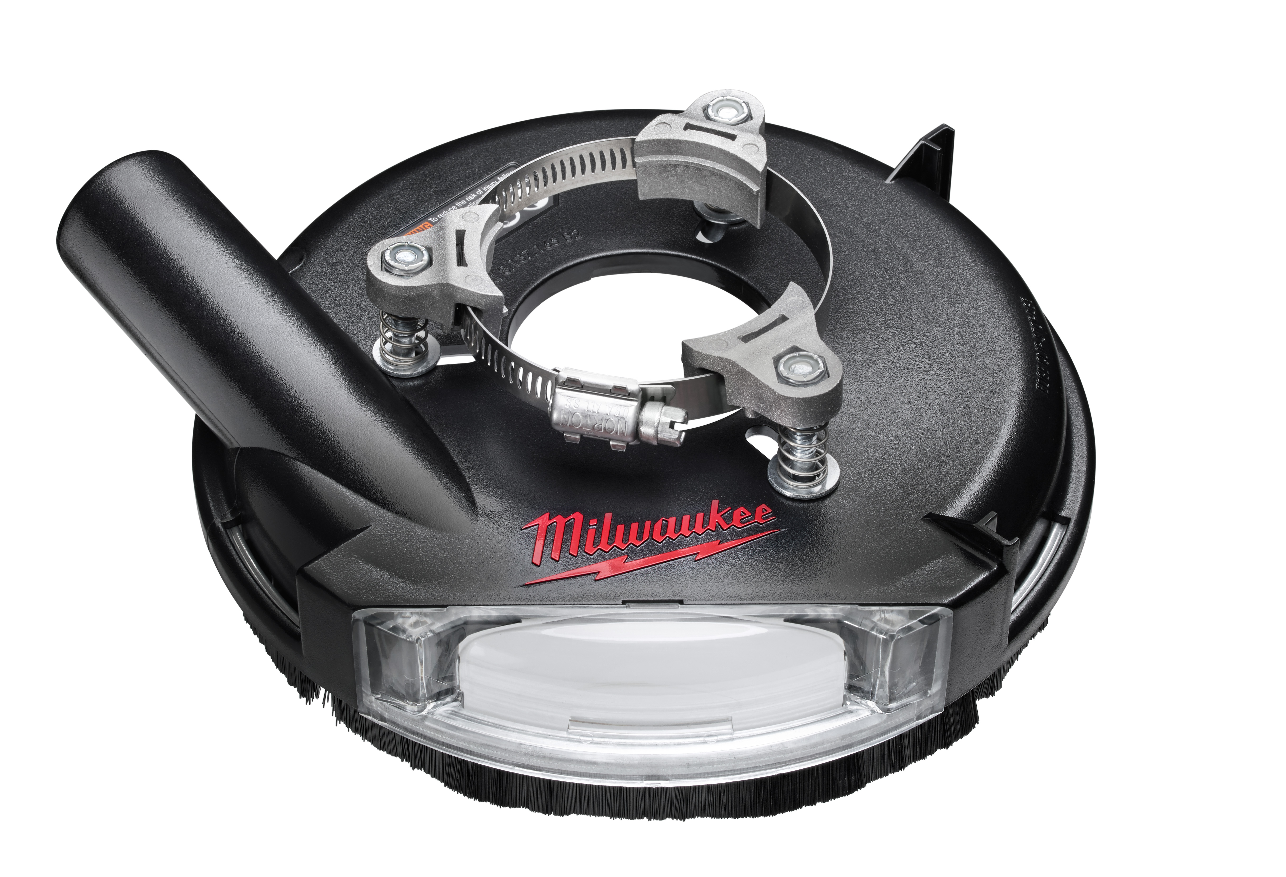 Milwaukee® 49-40-6105 Universal Surface Dust Shroud, For Use With Universal Grinder, 7/16 in H Collar, 17/64 in H Min Insert, 2-1/8 to 3 in Fits Collar Dia
