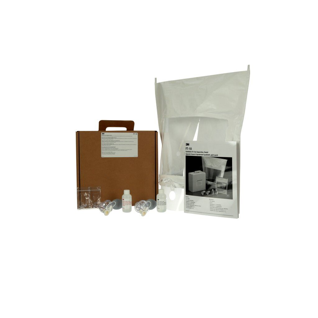 3M™ FT-10 Qualitative Fit Test Apparatus, For Use With Disposable Respirator/Reusable Respirator