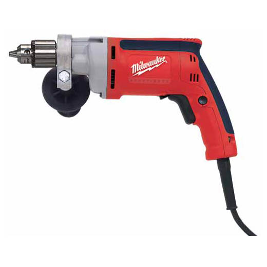 Milwaukee® 0200-20 Magnum™ Grounded Heavy Duty Electric Drill, 3/8 in Keyed Chuck, 120 VAC, 0 to 1200 rpm Speed, 12 in OAL, Tool Only