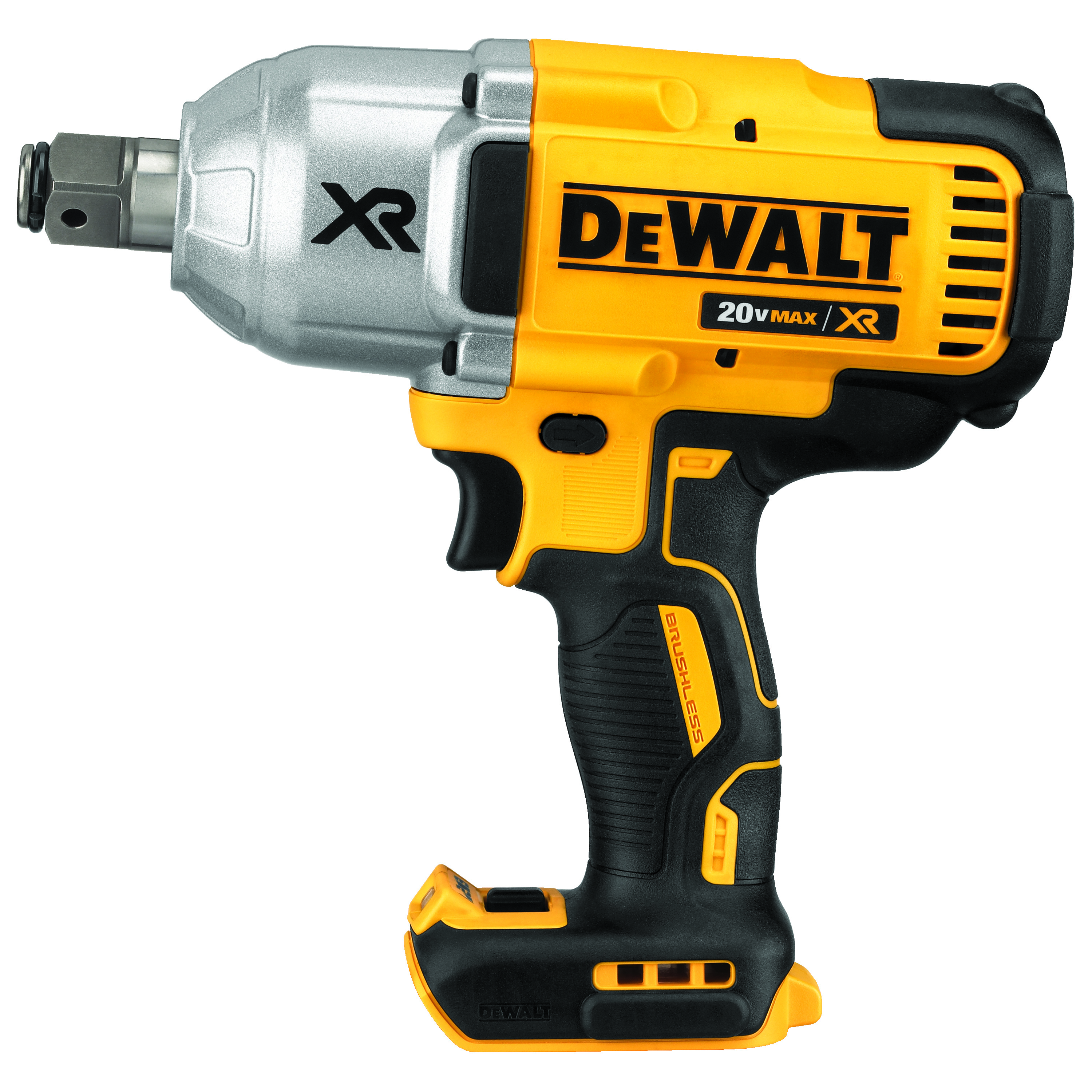 DeWALT® 20V MAX* MATRIX™ DCF897B Compact Cordless Impact Wrench Kit, 3/4 in Straight Drive, 700 ft-lb Torque, 20 VDC, 8-13/16 in OAL