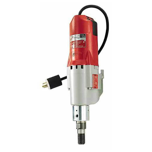 Milwaukee® 4097-20 Diamond Coring Motor, 500 to 1000 rpm Speed, 2-1/2 hp, 120 VAC, Metal Housing, 15 A