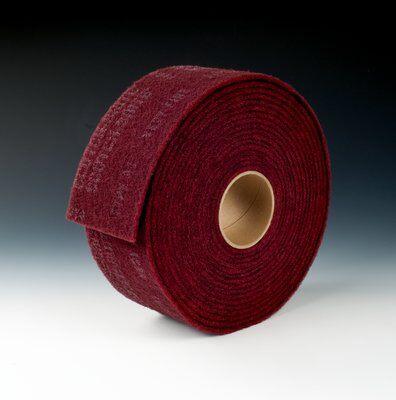 3M™ 048011-00280 LD-RL Deburring Roll, 30 ft L x 6 in W, Very Fine Grade, Aluminum Oxide Abrasive