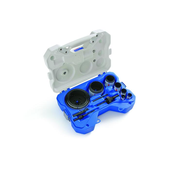 LENOX® Tools 308021200L Hole Saw Kit, 17 Pieces, Bi-Metal