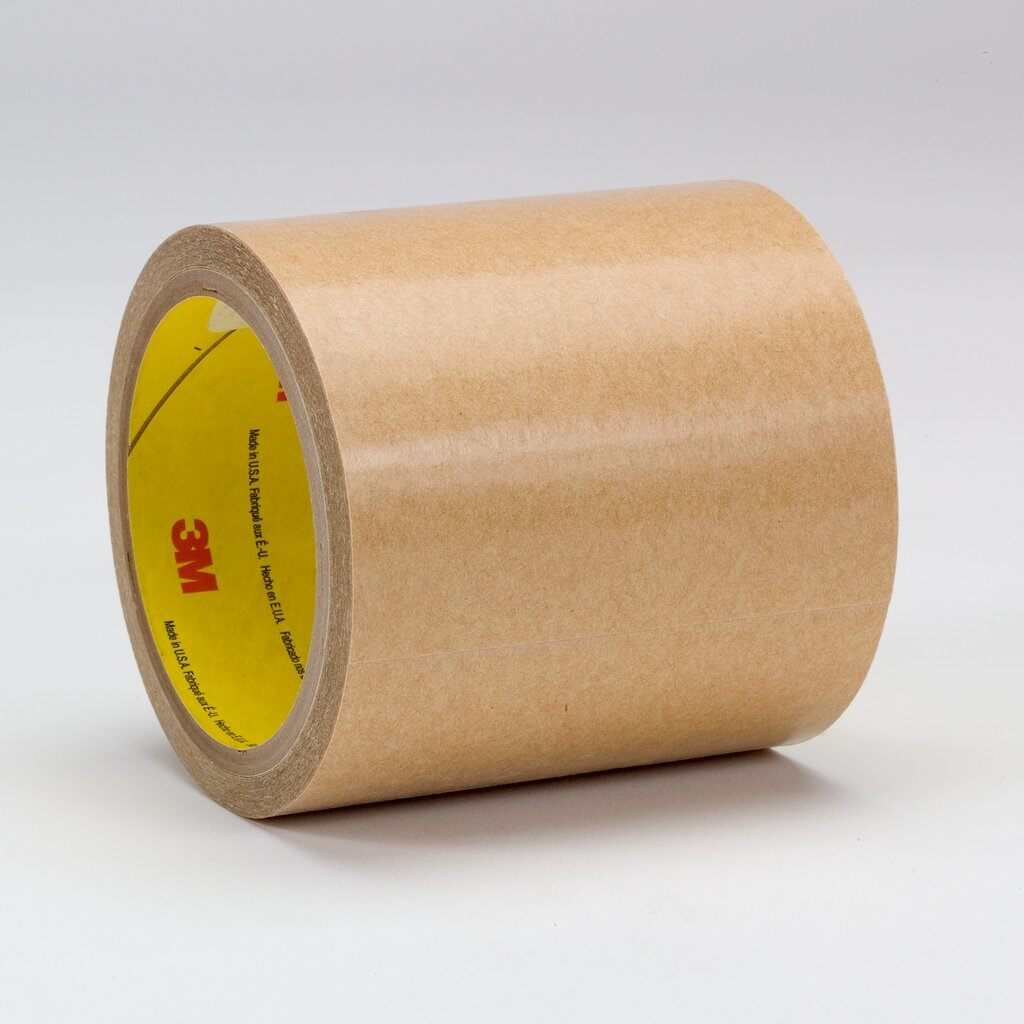 3M™ 950 General Purpose High Tack Adhesive Transfer Tape, 60 yd L x 1/2 in W, 8.5 mil THK, 5 mil 300 Acrylic Adhesive, Clear