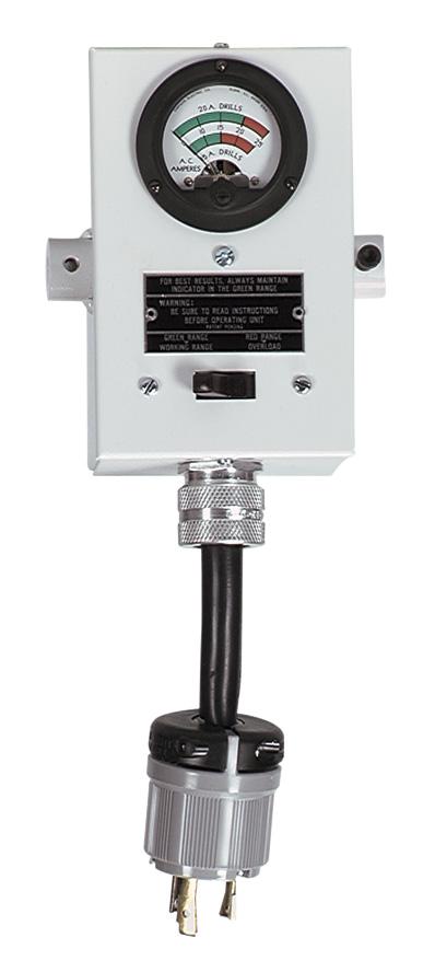 Milwaukee® Vac-U-Rig® 48-51-0100 Coring Ring Switch Box Assembly, 120 VAC, 30 A