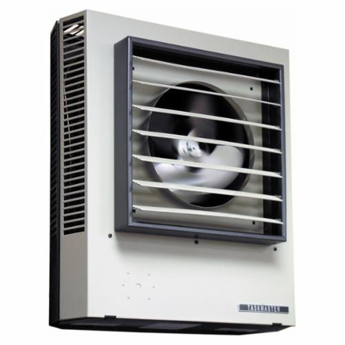 TPI F2F5110CA1L 5100 1/3-Phase Fan Forced Standard Unit Heater, 33.8 Btu/hr, 208 VAC, 47.8 A, 27.4 A, 50/60 Hz, 9.9 kW
