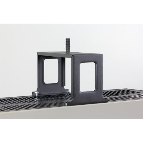 TPI B5175 Heater Bracket, For Use With 5100 Series 60 to 70 kW Suspended Fan Forced Unit Heater, 4-Hole, Steel, Brown, Domestic