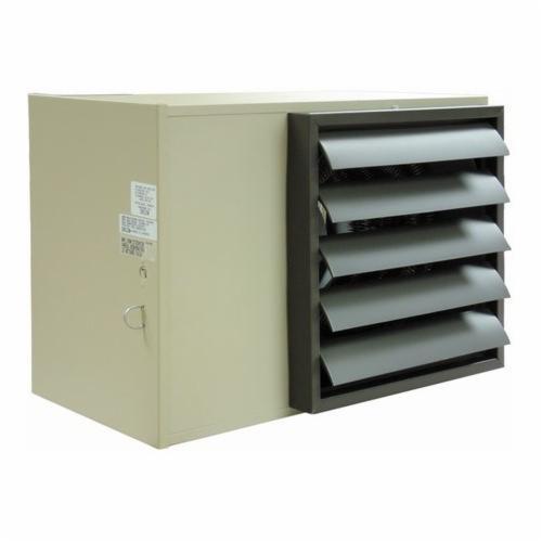 TPI P3PUH10CA1 UH Series 3-Phase Fan Forced Horizontal Standard Unit Heater, 34100 Btu/hr, 480 VAC, 12.1 A, 10 kW