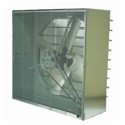 TPI CBT48B 1-Phase Standard Cabinet Exhaust Fan With Shutter, 115 VAC, 15 A, 48 in Propeller, 1 hp, Domestic