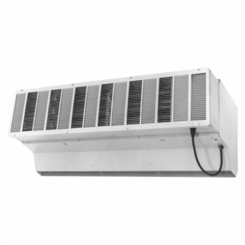 TPI CFH Heavy Duty Variable Speed Air Curtain, 120 VAC, 5.9 A, 4611 cfm High, 906 cfm Low, 12 ft W Door, Steel, Domestic