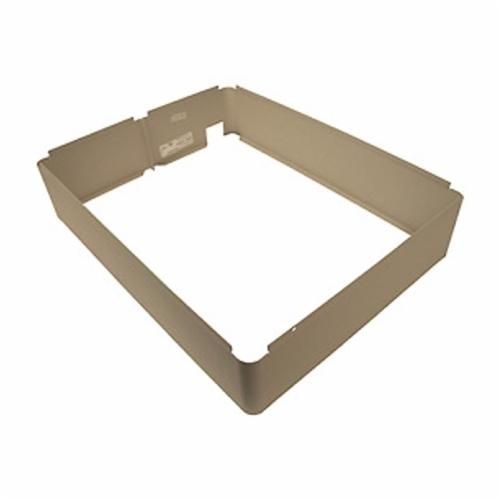 TPI 3310EX33R Surface Mounting Frame, For Use With 3310 Series Fan Forced Wall Heater, Ivory, Domestic